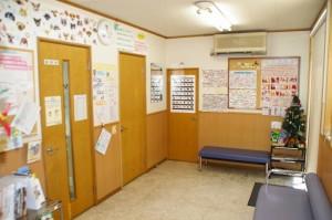 ますみ犬猫病院 待合室